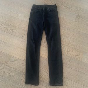 Citizen of Humanity light black wash jeans sz 25